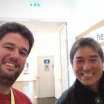 Guy Kawasaki and Frank C Jones at the Berlin Wikipedia Conference